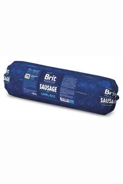 Brit Sausage With Lamb & Rice - 800g