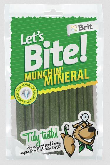 BRIT let's bite MUNCHIN MINERAL - 105g / 5ks