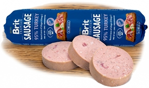 Brit Sausage With Turkey - 800g